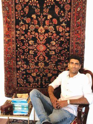 Sam Tehrani in his gallery