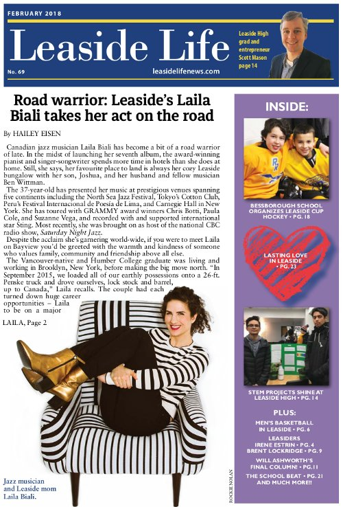 Leaside Life January 2018 Cover