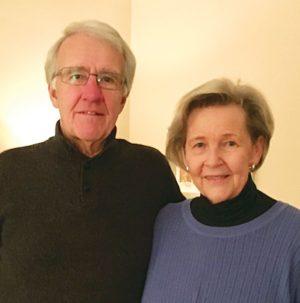 Carol and Gord Epp. Photo By Susan Scandiffio.