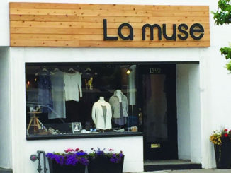 La Muse storefront on Bayview.