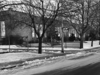 Bessborough Drive Public School, circa 1950. Image courtesy of Toronto Public Library, Salmon, James V.
