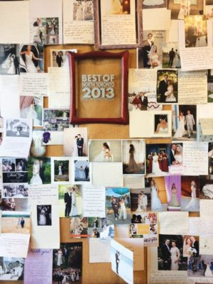 Irene's wall of accolades. Photo By Janis Fertuck.