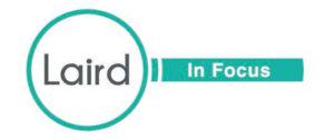 Laird in Focus logo.