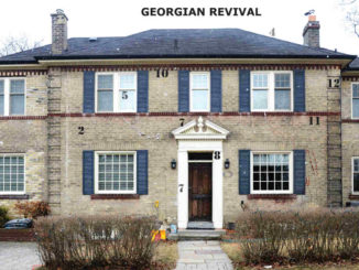 Georgian Revival house example.