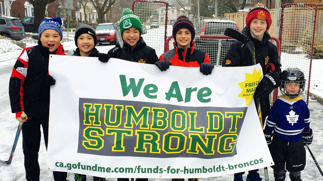 From Left to Right: Quin Weston, Zachary Kim, Cameron Kim, Zachary Livingstone, Spencer King and Oliver Rancourt.