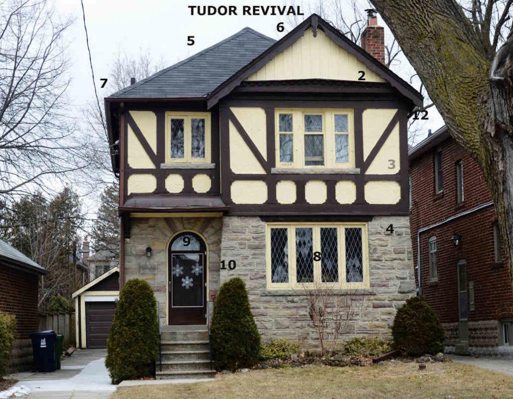 Tudor revival.
