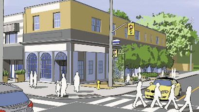 Artist rendering of Bayview and Millwood.