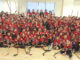 Leaside Flames teams brought sticks to their banquet and one team raised over $1,000 in aid.