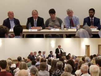 All Candidates' Meeting, May 2018, Leaside Arena.