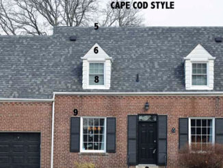 Cape Cod Style house in Leaside.
