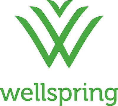 Wellspring logo.