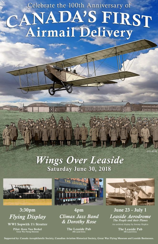 Wings over Leaside poster.
