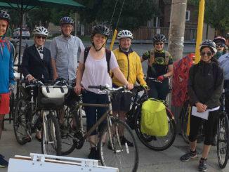 Leaside Bike to Work Crew 2018. Photo: Russell Sutherland.
