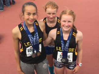 Isabella Goudros, Chloe and Sophie Coutts.