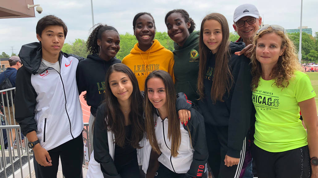 Leaside's track triumphs - big wins at TDSSAA City Track and Field