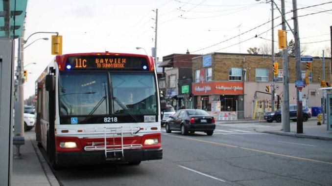 Bayview Bus. Staff photo.
