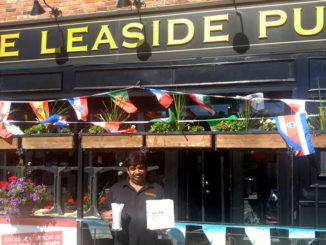 Leaside Pub Manager Param Ratna blazes the eco trail.