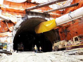 Mining Laird Station.
