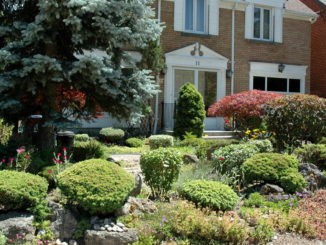 "One of the Eight ""Gardens of Distinction"" in Leaside."