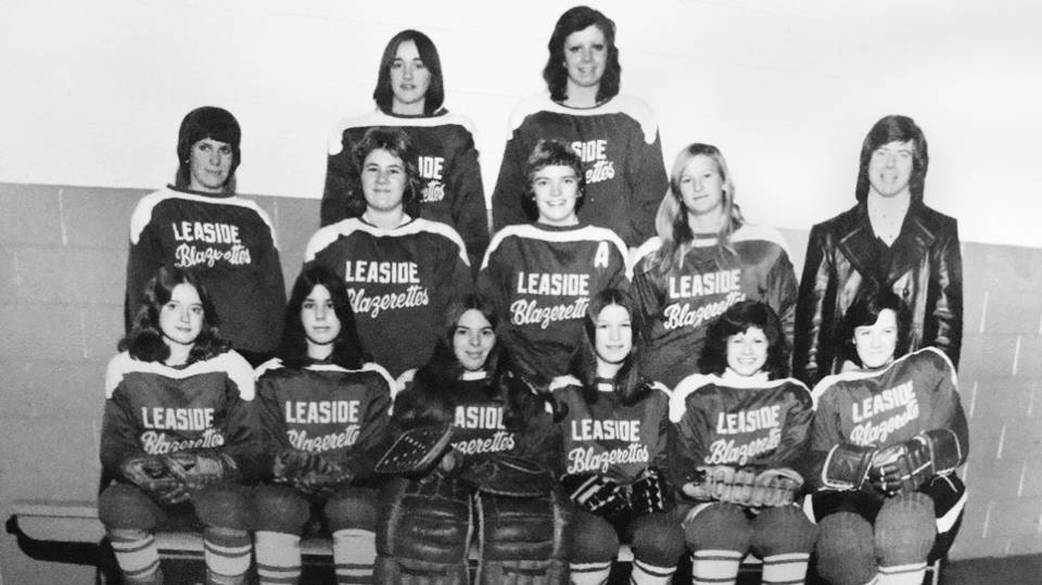 The 1974-1975 Blazerettes.