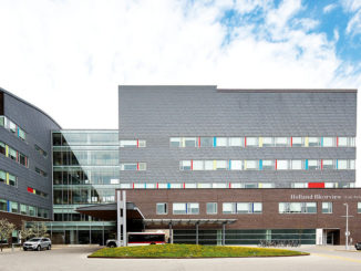 The exterior of Holland Bloorview.