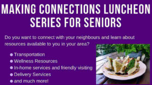 Making Connections Luncheon Series for Seniors
