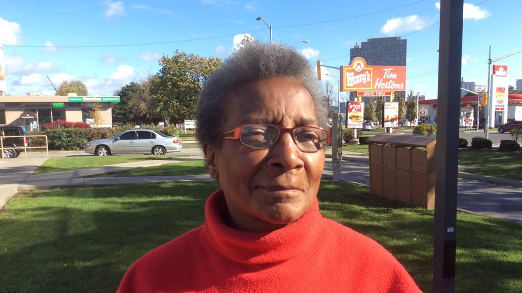 Alice Carriman, the queen of volunteer gardeners.