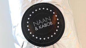 Naan and Kabob.