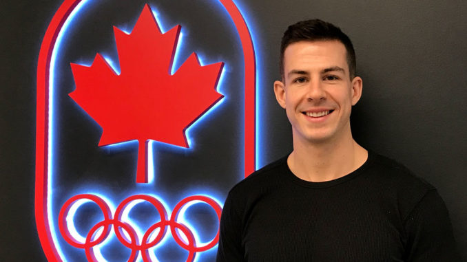 Scott, now interning with the Canadian Olympic Committee.