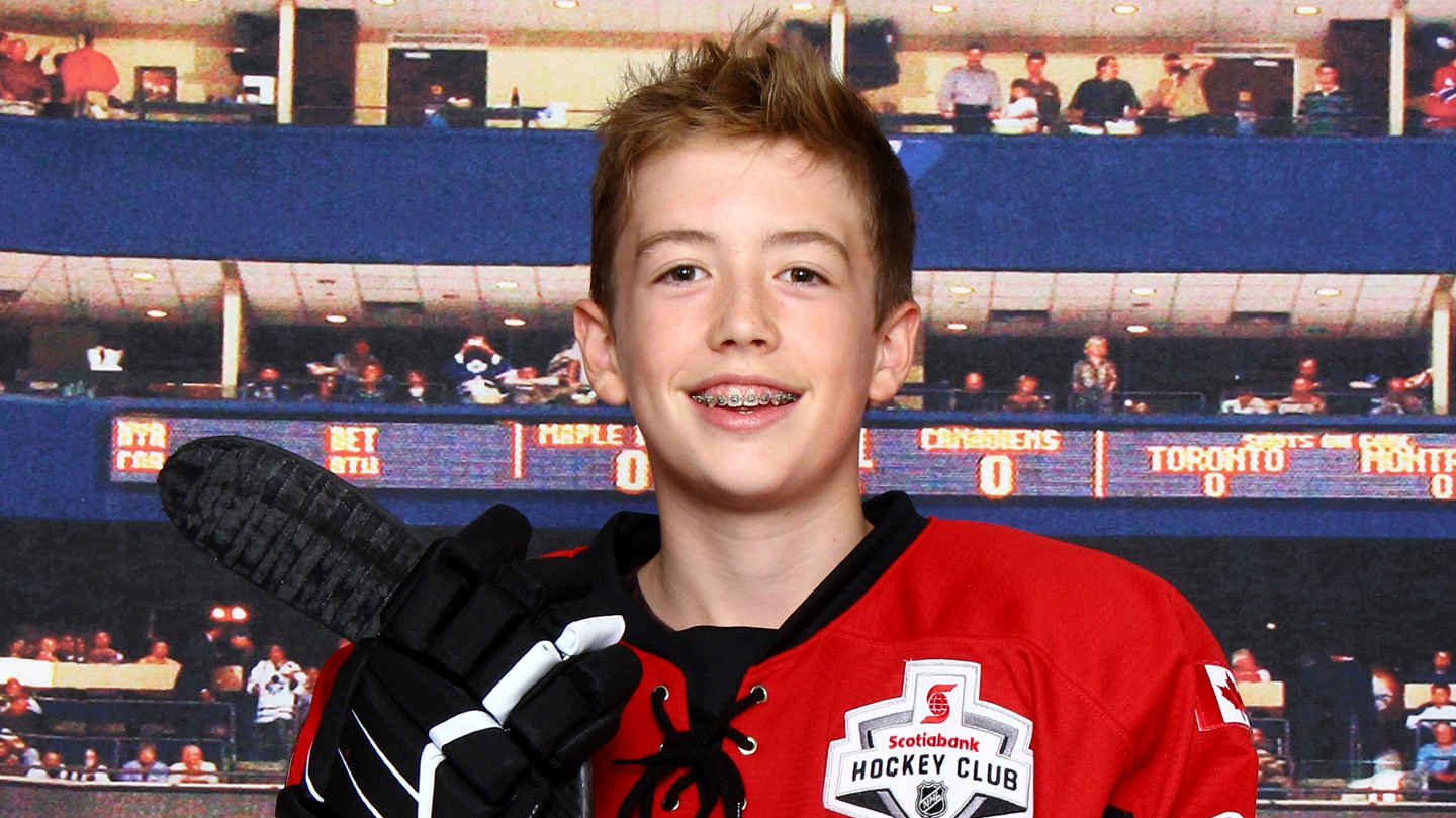 Sam King – humble AND plays solid hockey for the Leaside Flames.