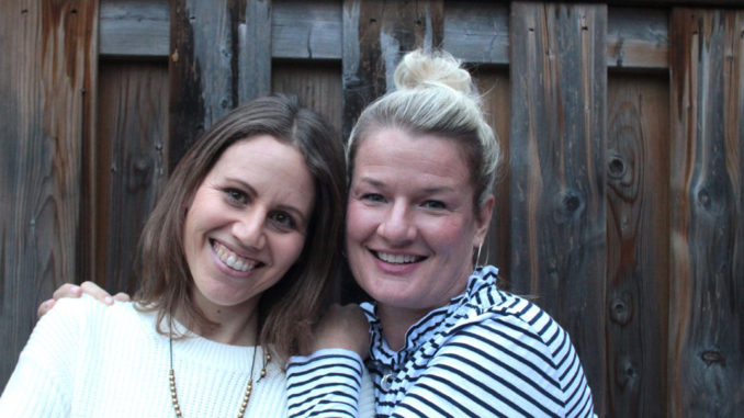 Hailey Eisen and Natalie Healy, creators of Born to Shine Kids.