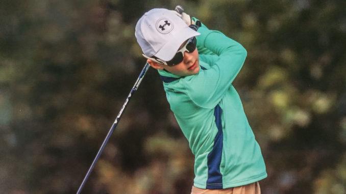 10 year old Lucas Gilbart. Photo: US Kids Golf.