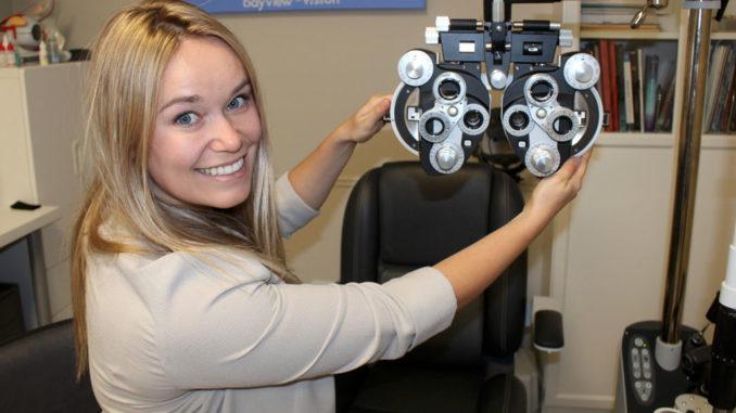 Dr. Olga Savitska of Bayview Vision.