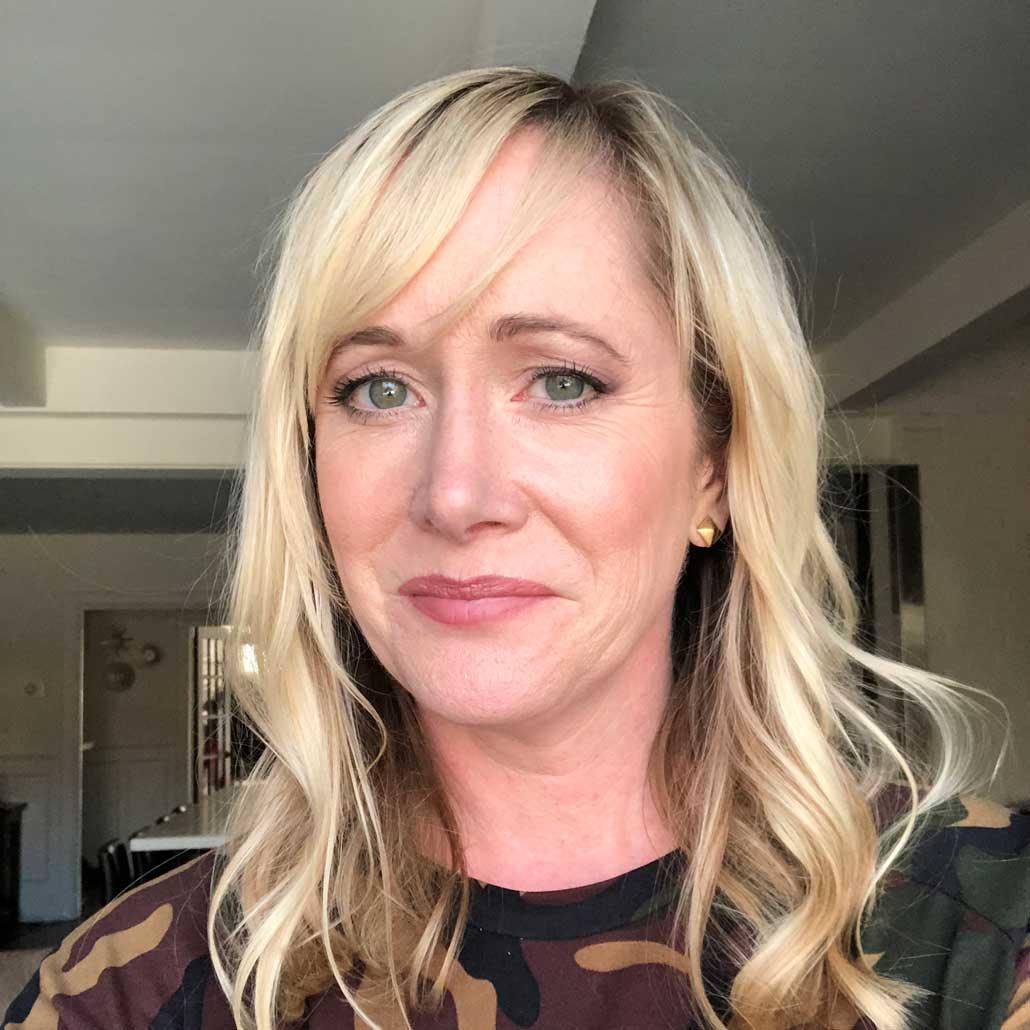 Heather Bolt, owner of Dotty Dress Studio.