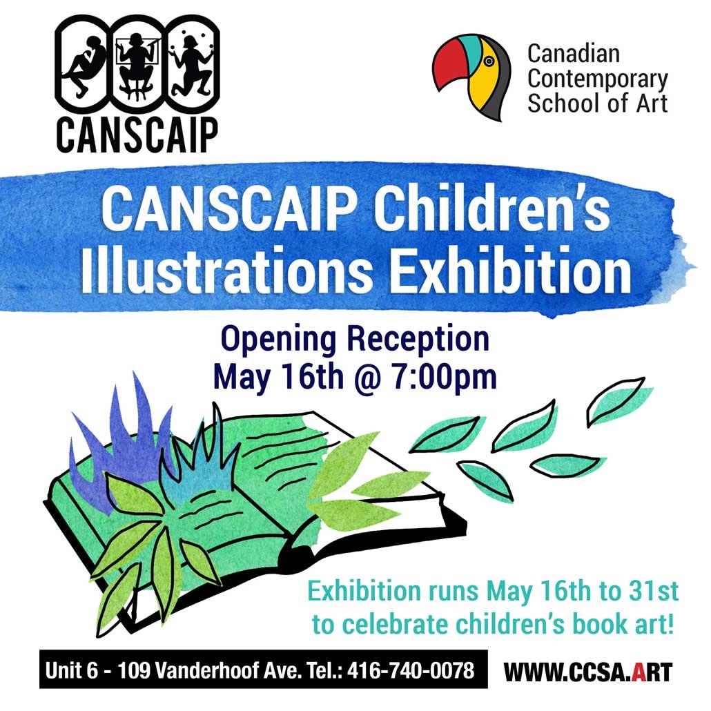 CCSA Children's Book Art Exhibition.