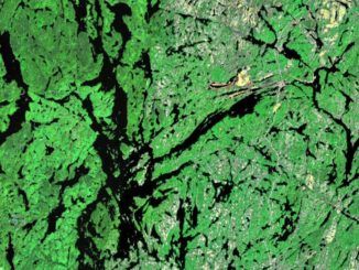 Lake Temagami. Photo NASA WorldWind Public Domain, https://commons.wikimedia.org