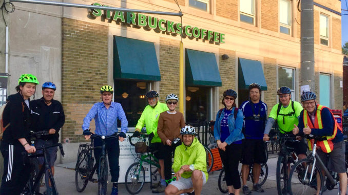 Leasiders on Bike to Work Day 2019.