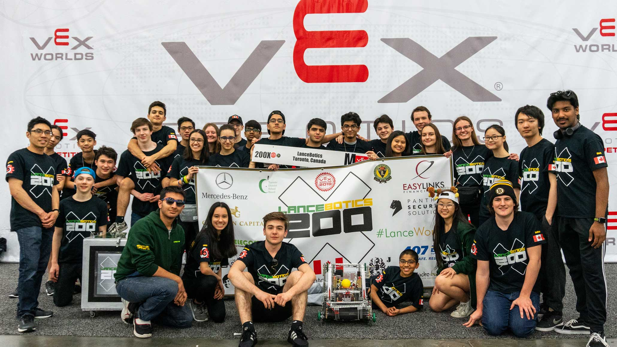 LHS Robotics team takes the world stage.