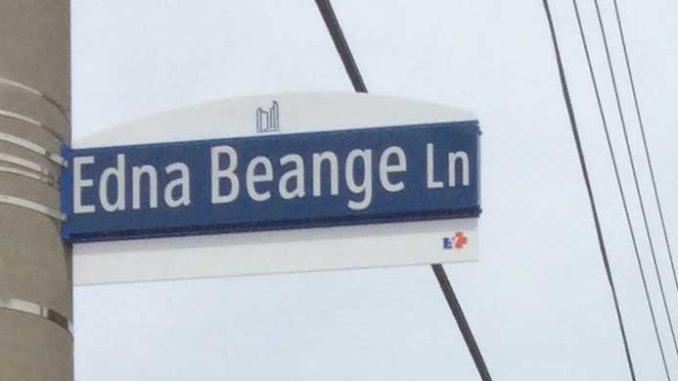 Edna Beange Lane.