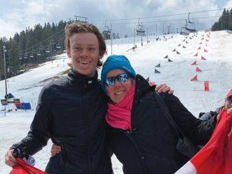 Chairman of the (snow)board, Jamie Behan. Photo Annette McClelland.