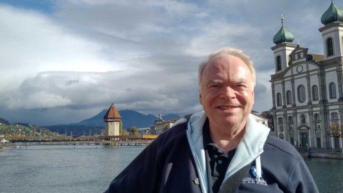 Retiring agent Stephen Frazee.