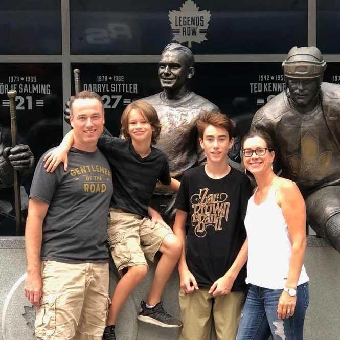 Tabatha and Family. Photo Andrea Nevitt.