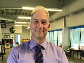 Scott Greenfield, the new general manager at Leaside Memorial Gardens. Photo Janice Ivory-Smith.