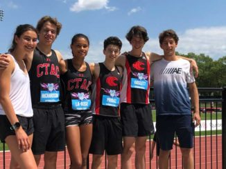 Six Leaside-East York members of Central Toronto Athletic Club in Montreal July 2019.