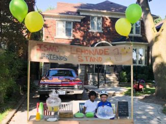 Please join Isaac at his 4th Annual Lemonade Stand! Drop by 76 Bessborough Dr. on Sept. 15th between 10 a.m. and noon to try his delicious homemade lemonade! Staff photo.