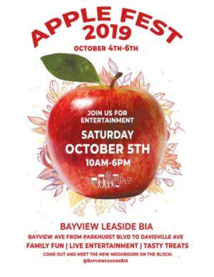 Applefest 2019 poster.