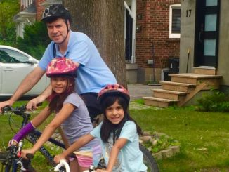 Cycling with kids was a natural progression for the Carter family.