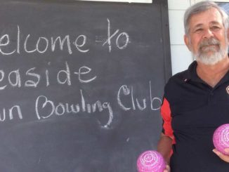 Phillip Francis of the Leaside Lawn Bowling Club. Photo: Lorna Krawchuk.