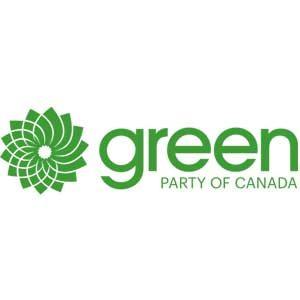 Green party logo.