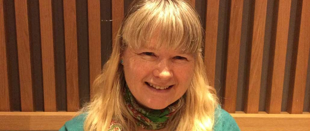 Julia Schindeler of the Midtown Community Group. Photo Lorna Krawchuk.
